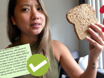 Is she breadcrumbing you? Send this text 1